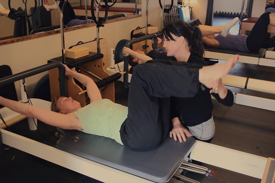pilates equipment class